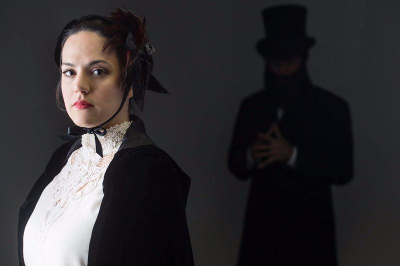 Daniela Mack as Elizabeth Cree, credit Dominic M. Mercier for Opera Philadelphia.
