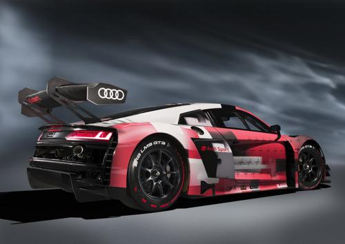 Tweede evolutie van de Audi R8 LMS GT3