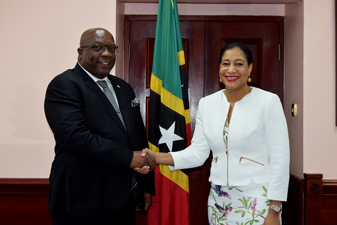 PM Harris briefed on efforts to delist St. Kitts and Nevis from EU's non-cooperative tax jurisdictions