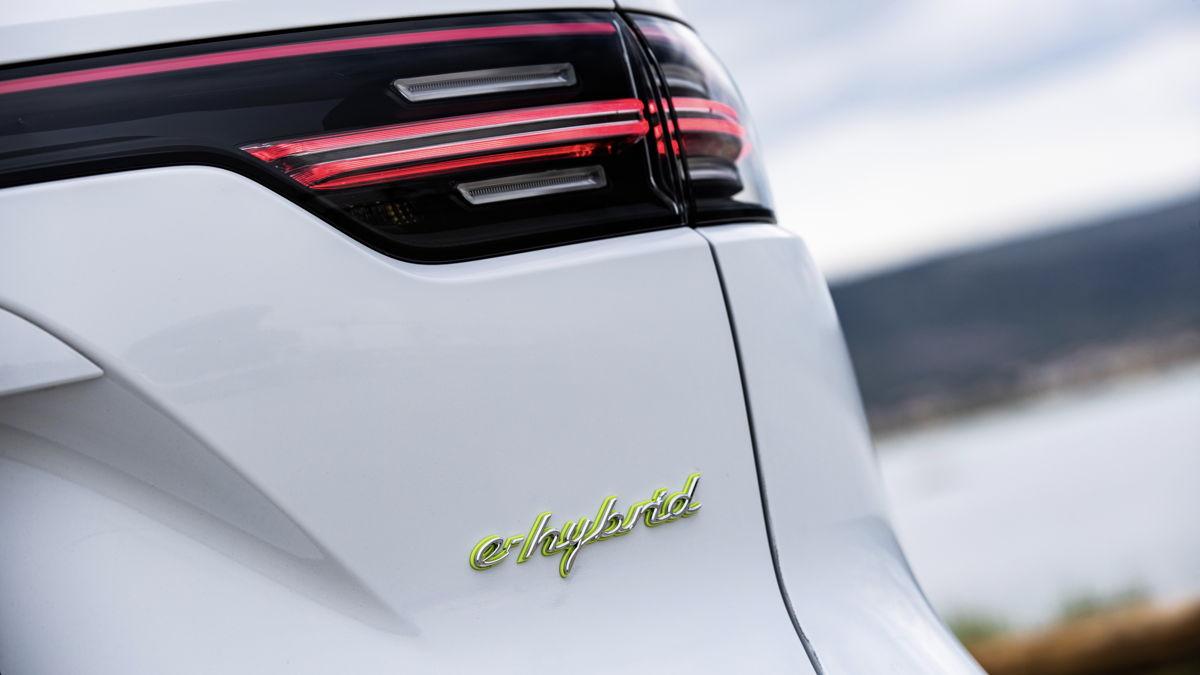 Cayenne Turbo S E-Hybrid Coupé.