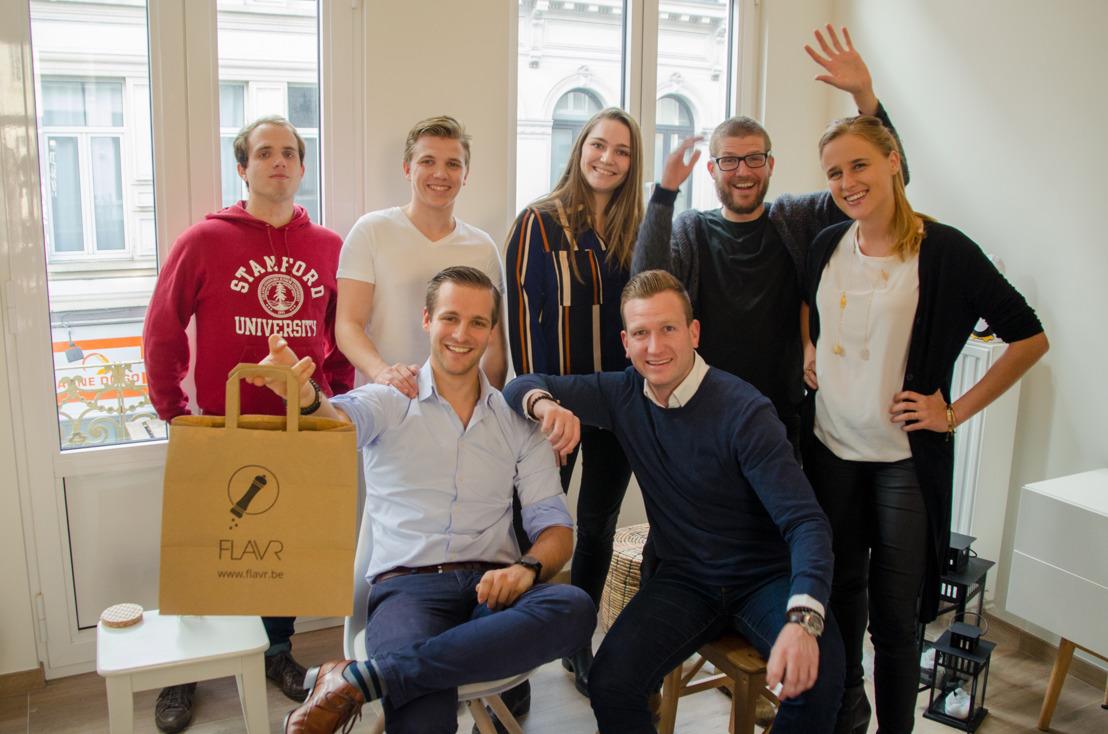 Antwerpse start-up FLAVR haalt 450.000 euro op bij Vlaamse investeerders