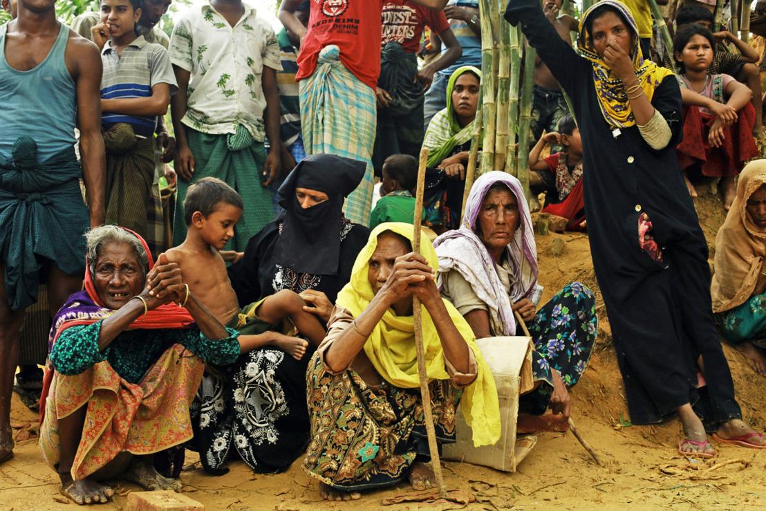 Duizenden Rohingya-vluchtelingen blijven verstoken van hulp