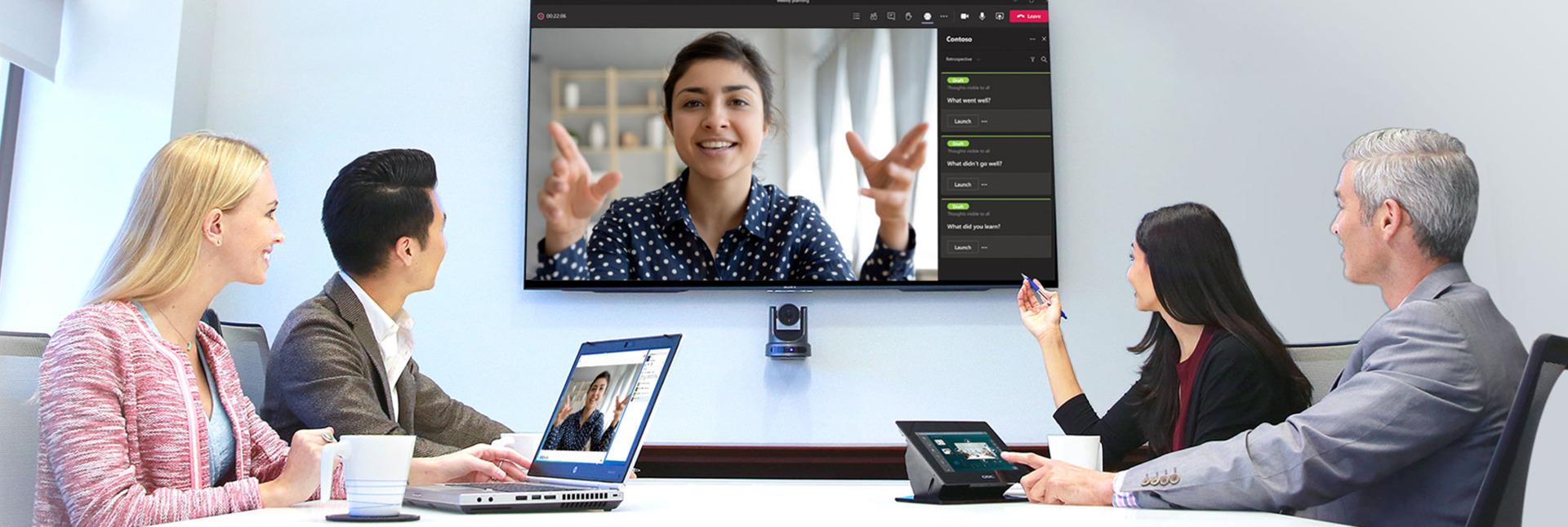 Videokonferanse: Sennheiser og QSC skal gjøre opplevelsen mer spennende