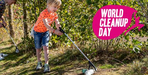 Roompot maakt een groot landelijk event van World Cleanup Day
