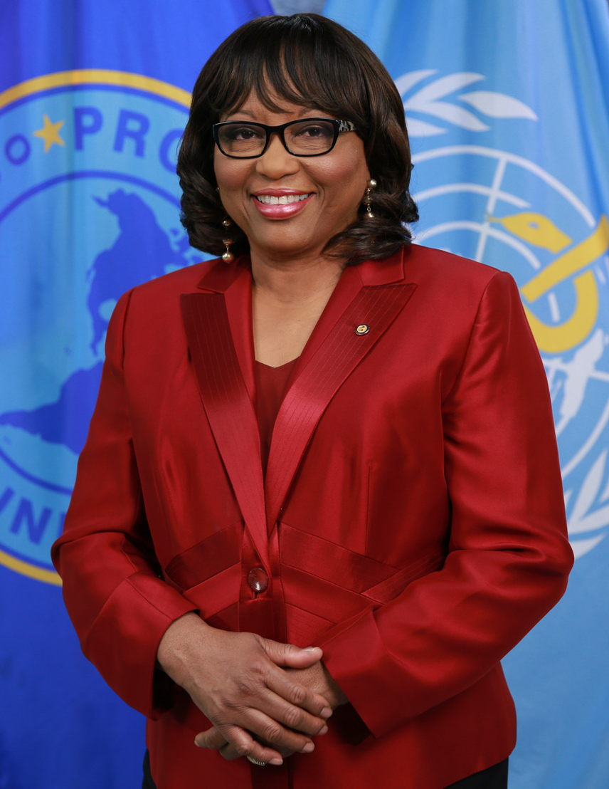Official portrait of Carissa F. Etienne, Director of the Pan American Health Organization