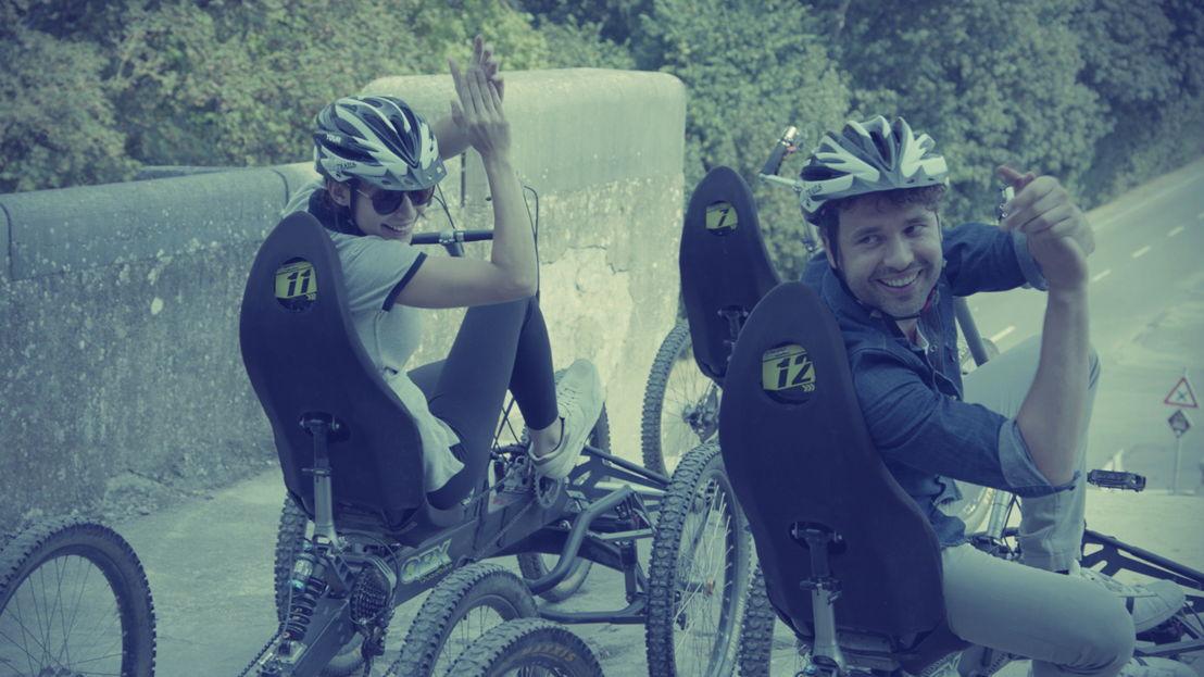 Weg zijn wij Thomas Vanderveken, Dana Winner en Jill Vandermeulen<br/>(c) VRT