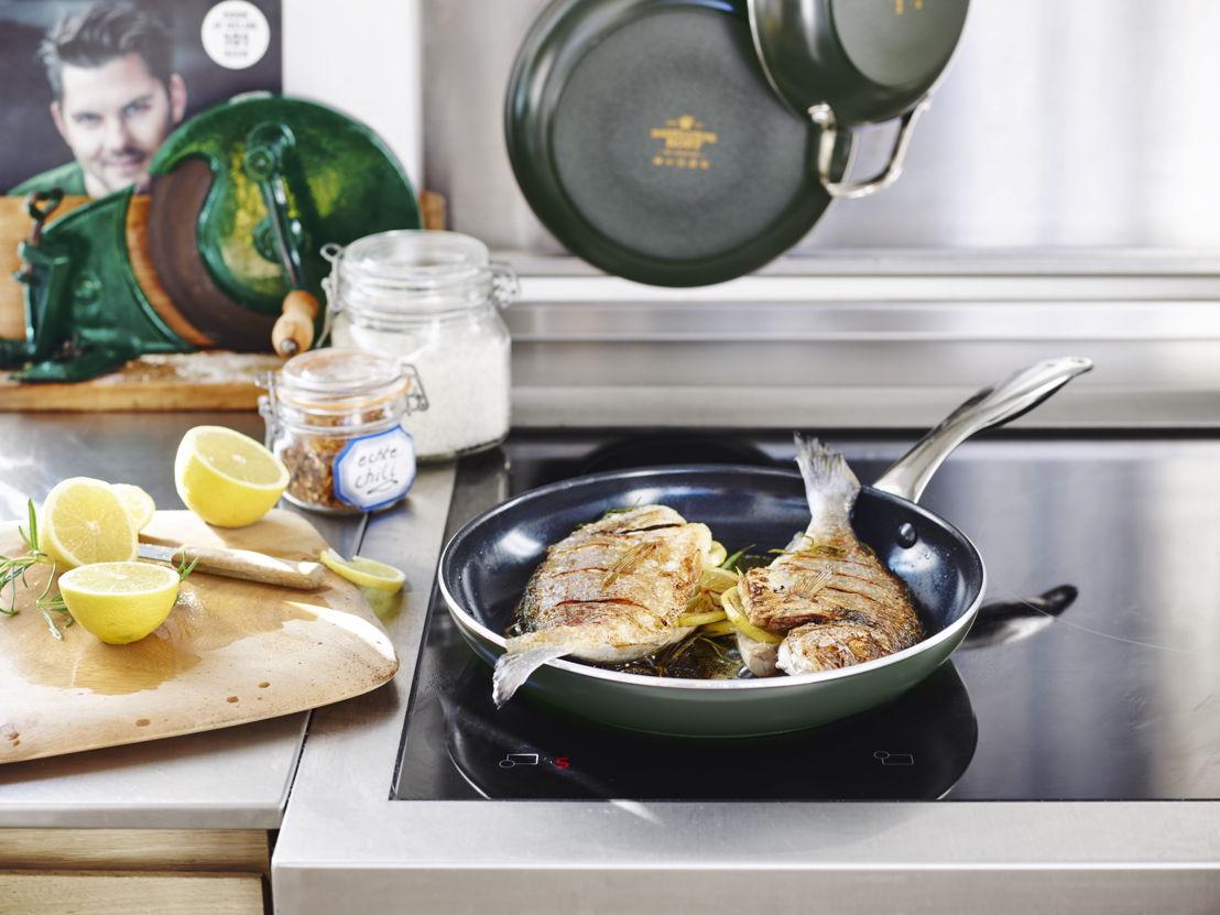 Braadpan 28cm: Familie of vrienden in de watten leggen lukt nog beter met deze keukenhulp in de buurt. Presteert altijd, zonder tegenpruttelen. Adviesprijs €44,99.