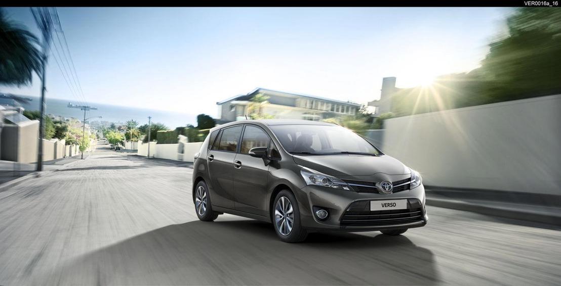 Toyota VERSO MY2017: nouveauc codes, changements et prix