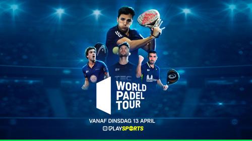 Play Sports Open zendt vanaf 13 april als eerste Belgische zender padel competitie uit