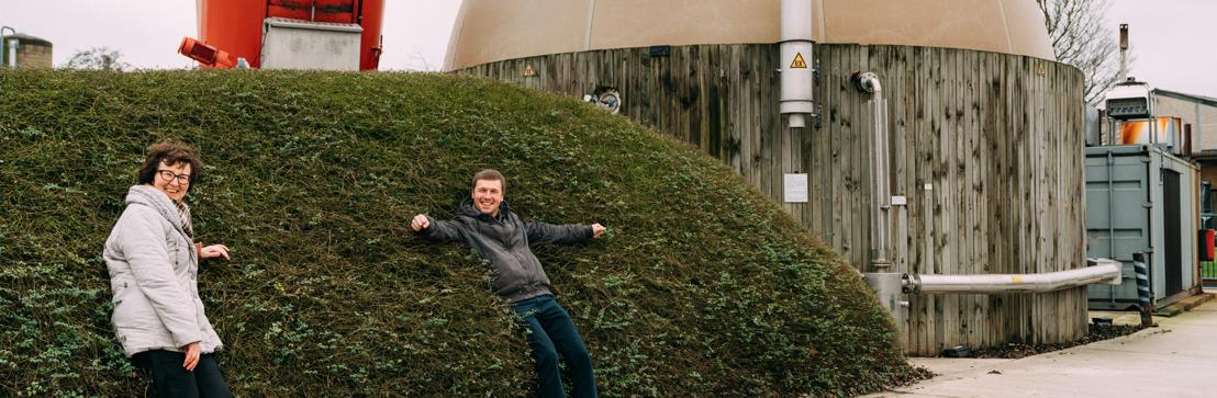 Inagro verkoopt nu ook elektriciteit uit biogas na succes zonne-energie