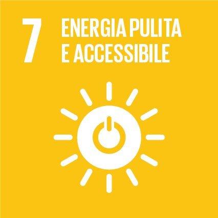 Goal #7: Assicurare a tutti l'accesso a sistemi di energia economici, affidabili, sostenibili e moderni
