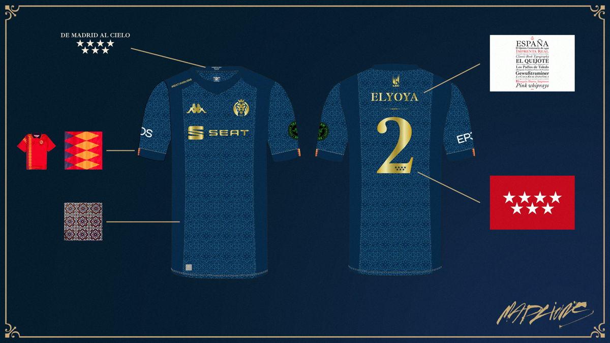 Camiseta Mundiales 2021 de League of Legends – MAD Lions
