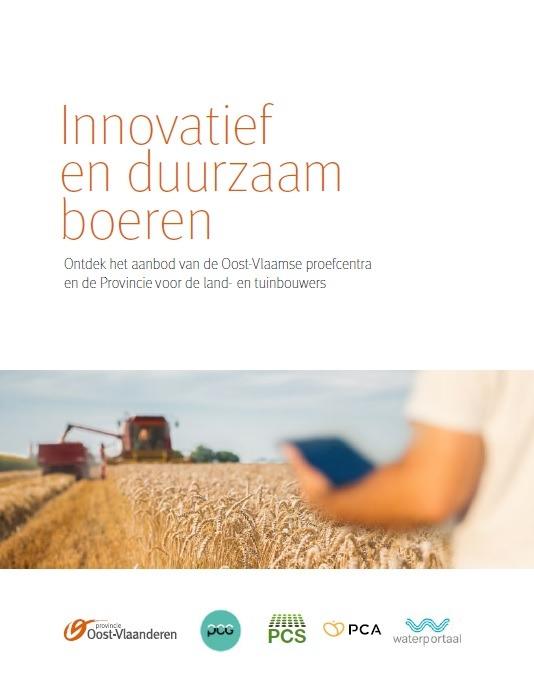 Nieuwe publicatie: Brochure Innovatief en duurzaam boeren