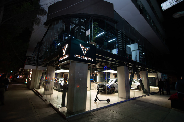 CUPRA opens its first CUPRA Garage worldwide in Mexico