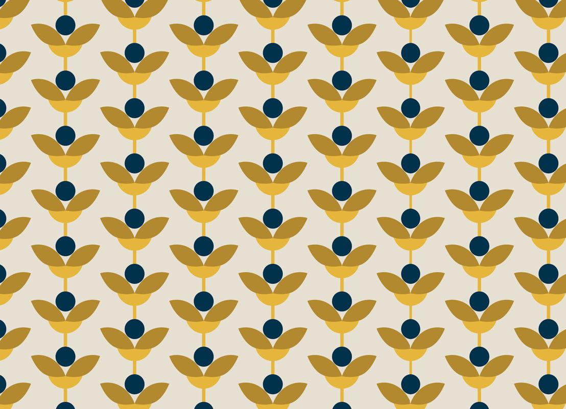 May | Retro Floral Vinyl Flooring