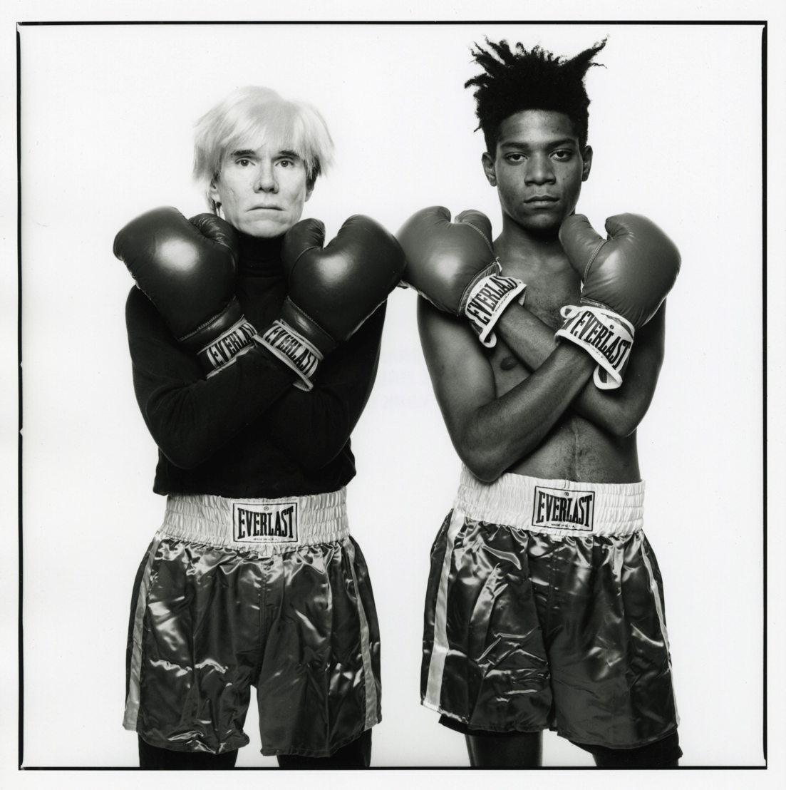 """Andy Warhol and Jean-Michel Basquiat #133"" (July 10 1985) by Michael Halsband"