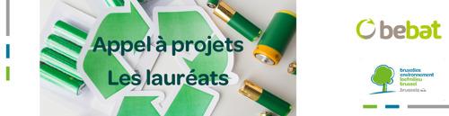 Bruxelles Environnement et Bebat annoncent les lauréats de leur appel à projets lié à la réutilisation des piles et batteries usagés