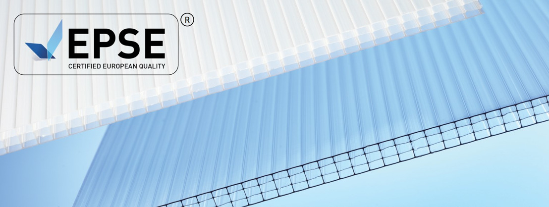 EPSE Quality Label – an indication of excellence for Polycarbonate Sheet