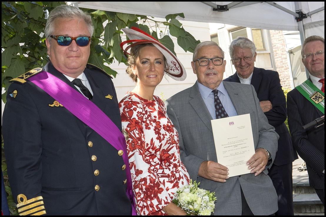 """Koninklijke vzw Karabijnclub """" De Kroonschutters"""" uit Zele, voorzitter-secretaris Luciaan De Graeve"""