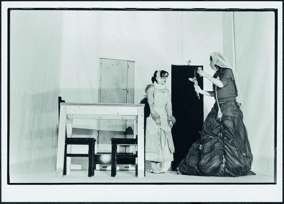 Maria Magdalena, regie Jan Decorte, Kaaitheaterfestival 1981. Foto Willy De