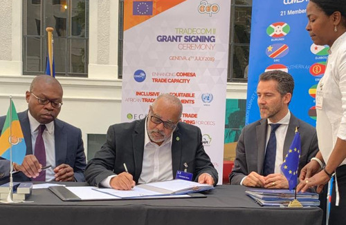 Sustainable Trade: OECS signs € 3.6 million project to develop trade capacity in the region