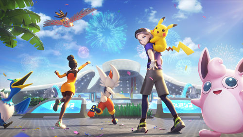 Pokémon UNITE est disponible sur Nintendo Switch