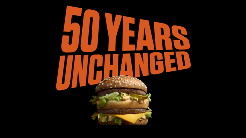 McDonald's en TBWA vieren 50 jaar Big Mac met « the Unchangers »