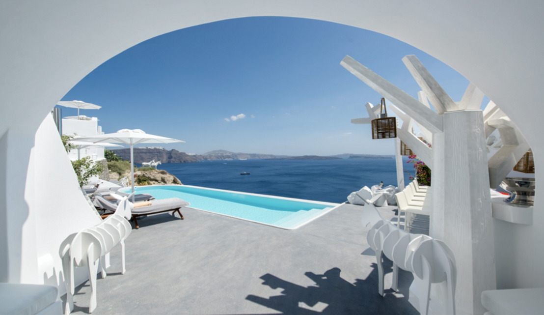 BRAND NEW Canaves Oia Sunday Suites Redefine the Meaning of Luxury Accommodation in Santorini, Greece