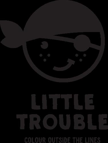 """""""Little Trouble"""": nieuw Belgisch duurzaam kledinglabel doet kinderen buiten de lijntjes kleuren"""