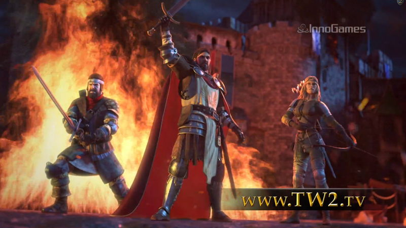 Screenshot Tribal Wars 2 TV Spot