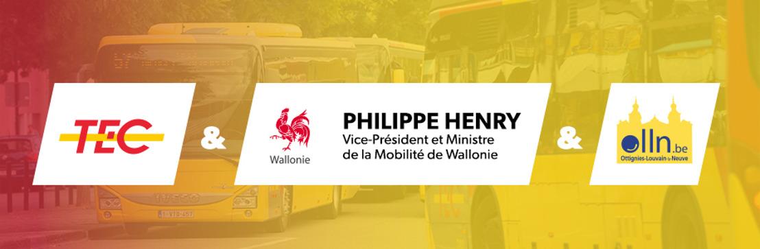 TEC à la demande à Louvain-la-Neuve : service étendu jusqu'à 23h !