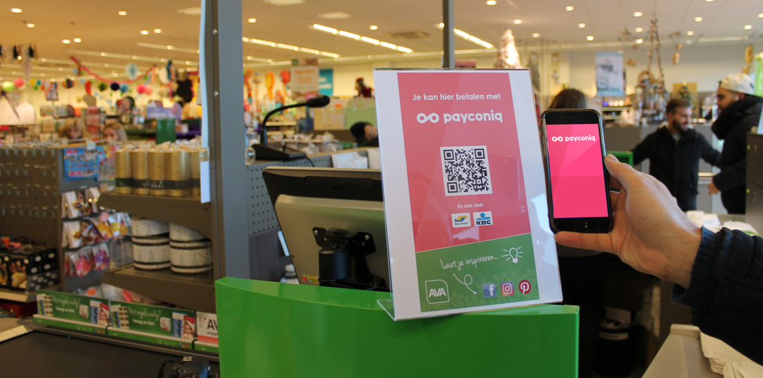 AVA collabore avec Payconiq pour assurer un paiement mobile très rapide et fluide