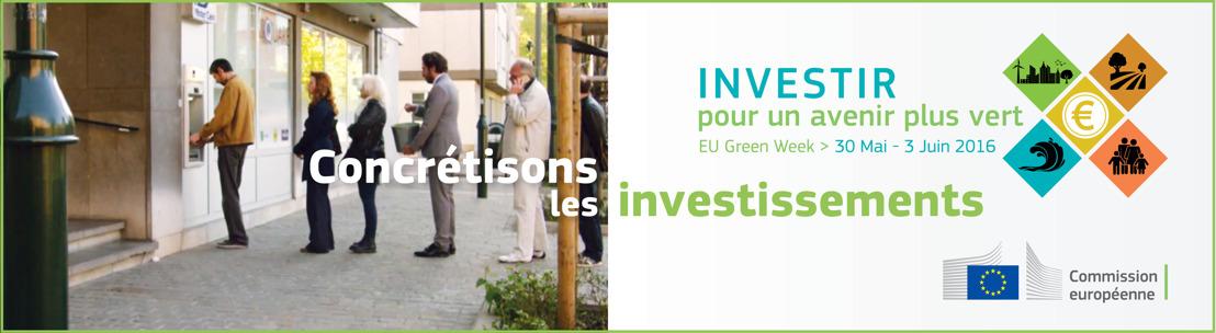 Le vice-président de la Commission européenne s'exprime sur un investissement plus vert
