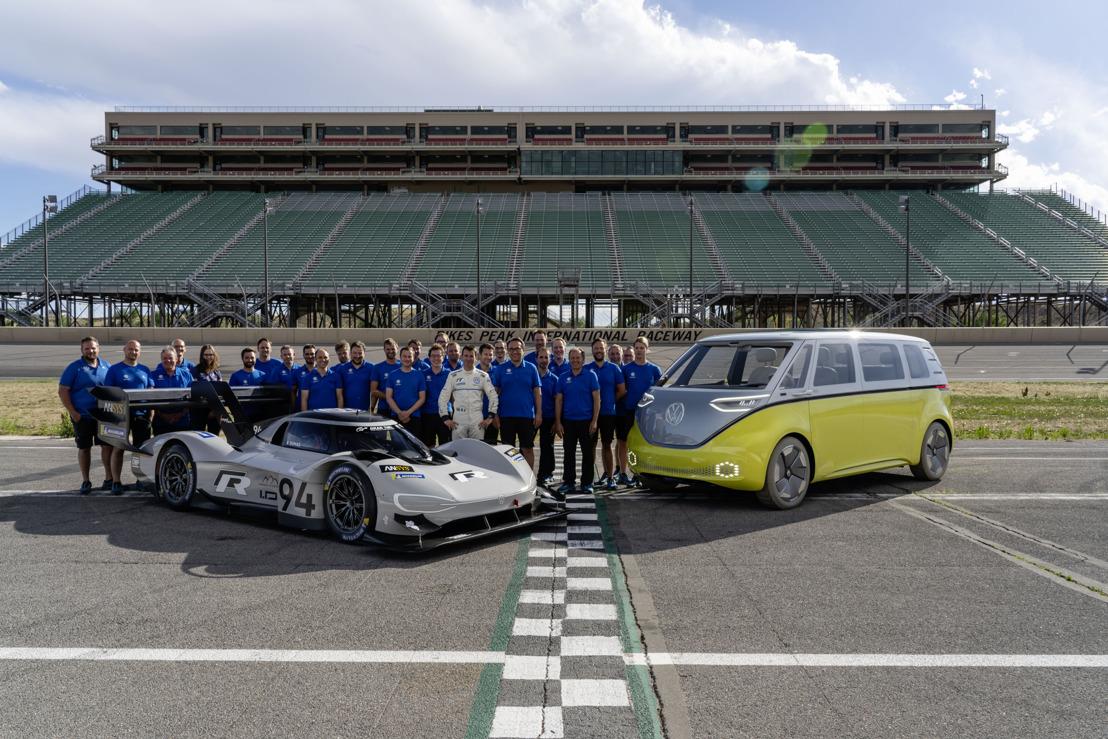 Volkswagen I.D. R Pikes Peak rompe récords gracias al trabajo en equipo