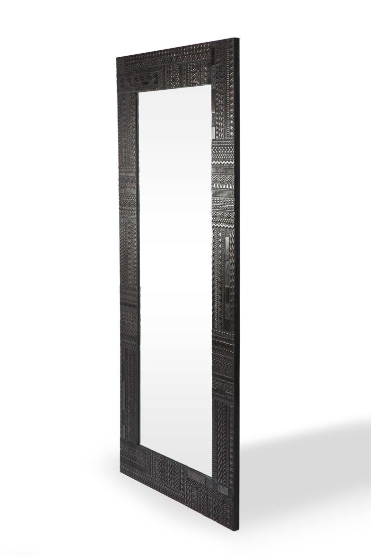 Ancestors Tabwa mirror - 250x150x3cm
