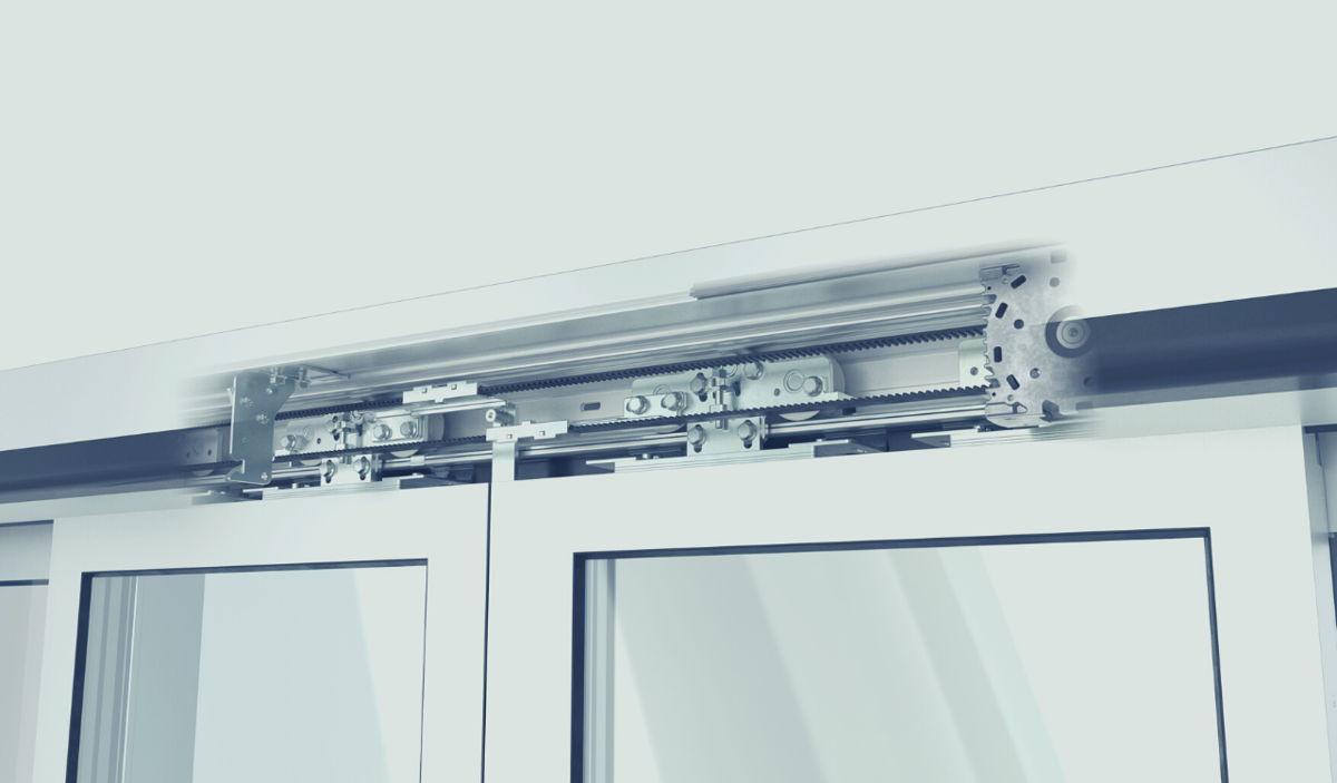 Neues Antriebssystem ES PROLINE von dormakaba für automatische Schiebetüren