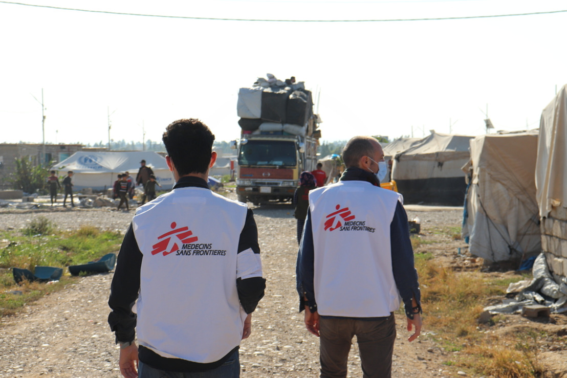 Irak: MSF alerta de las graves consecuencias humanitarias que tendría el cierre del campo de desplazados de Laylan