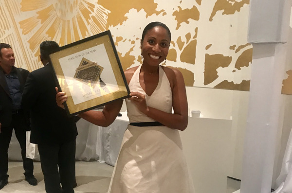 Preview: Saint Lucian Author and Youth Advocate, Loverly Sheridan, wins the coveted Palm Beach Illustrated Educator Of The Year Award