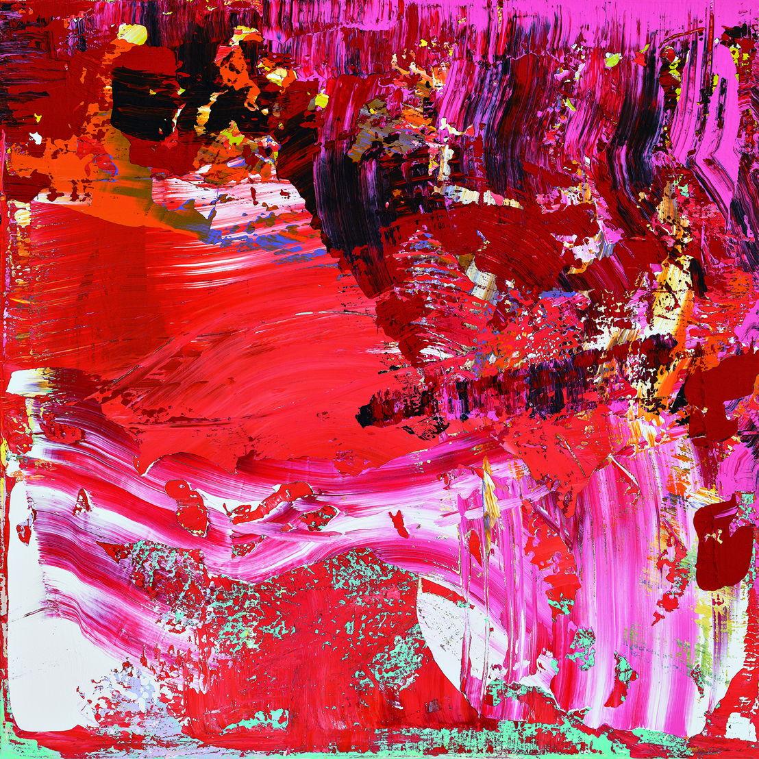SAF Dongi Li, Love Me Tender, 2014, Acrylic on canvas, 70x70cm