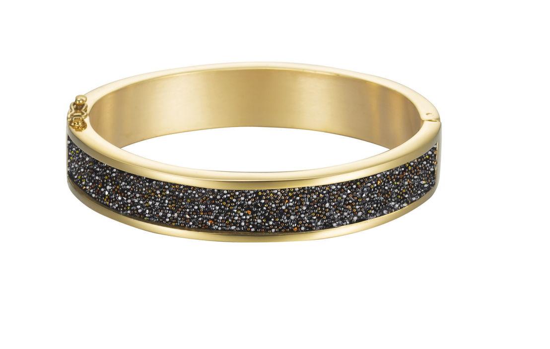 Bracelet ESPRIT Glam Black Gold : 119 €.