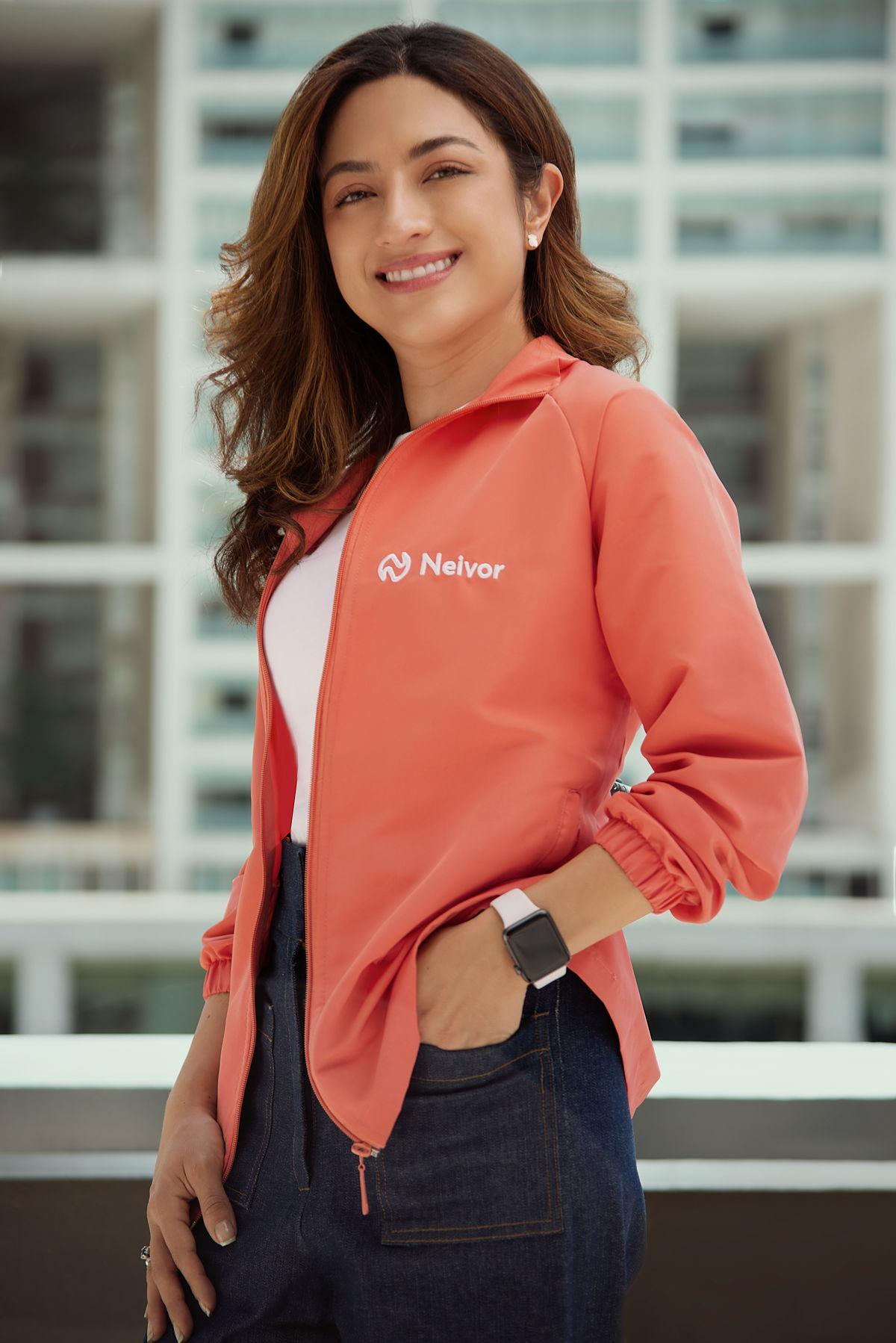 Caterine Castillo, CEO y Co-fundadora de Neivor.