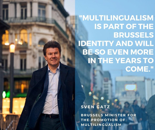 """Everyone in Brussels should be multilingual at age 18"""