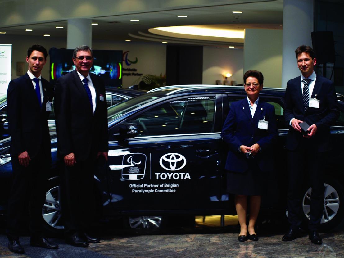 Toyota devient partenaire du Belgian Paralympic Committee