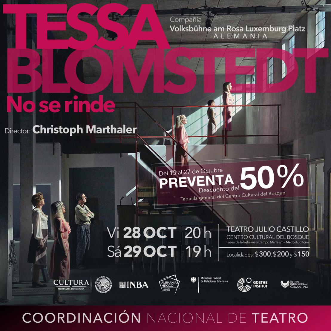 Tessa Blomstedt no se rinde