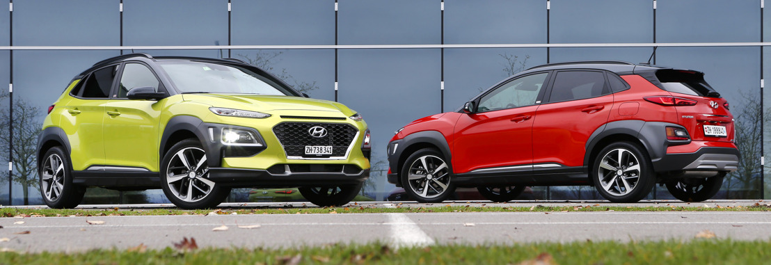 All-New Hyundai KONA immédiatement disponible en Suisse
