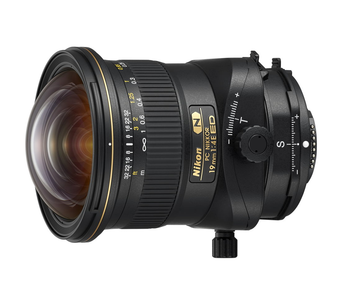 Nikon PC NIKKOR 19mm f/4E ED gagne le TIPA Award 'Best Professional Lens'