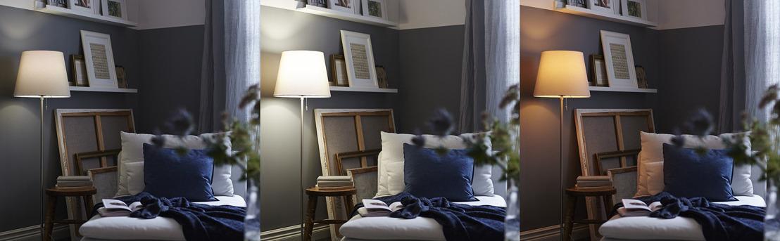 En lançant l'éclairage intelligent, IKEA franchit un pas supplémentaire vers la maison intelligente