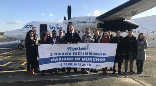 Preview: VLM Airlines voegt vandaag vanuit Antwerpen 2 nieuwe bestemmingen aan zijn netwerk toe: München en Maribor