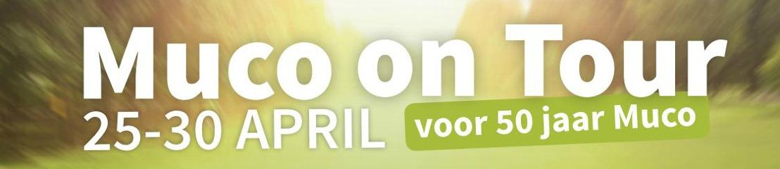 Muco on Tour: Mucogemeenschap doorkruist deze week België per fiets naar aanleiding van 50 jaar Mucovereniging