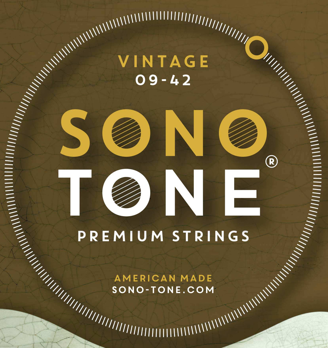 SonoTone Debuts Vintage Series Premium Electric Guitar & Bass Strings